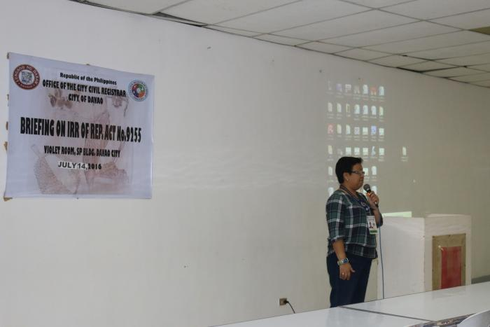 Orientation of Revised IRR of RA 9255 with SCRA